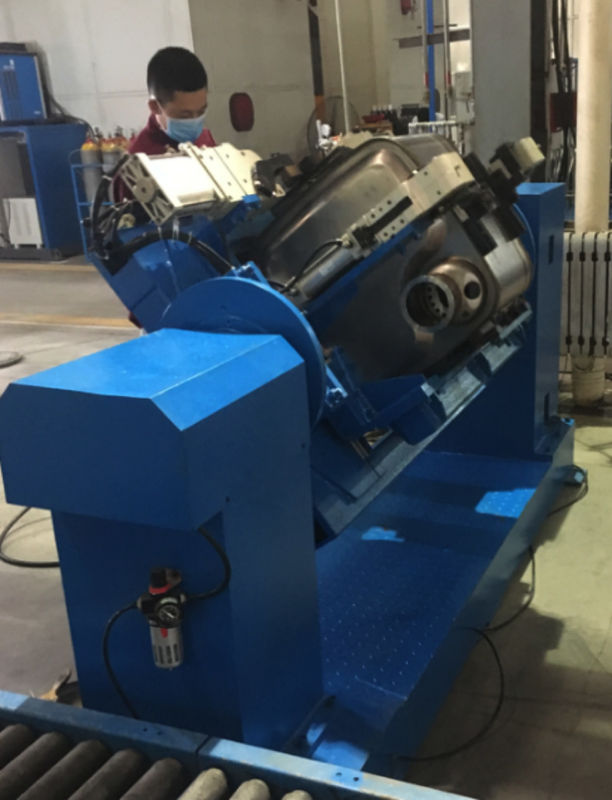 Automatic High Speed Roll Welding Machine Displacement Welding Fixture