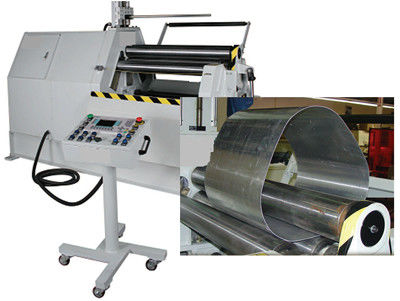Four Rollers CNC Plate Bending Machine Hydraulic Driving For Sheet Metal