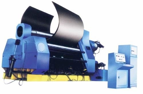 High Speed 4 Roller Plate Rolling Machine 80-500mm Rolling Diameter